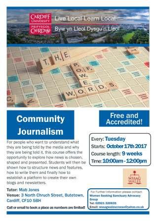 Community Journalism WSSAG Oct 17