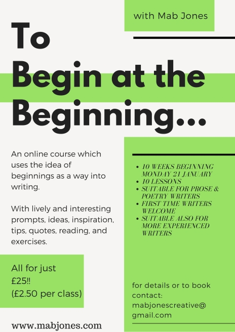 to begin at the beginning.-3